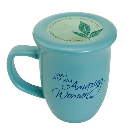 57829 amazing woman coffee mug blue front