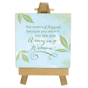 Amazing Women Mini Easel
