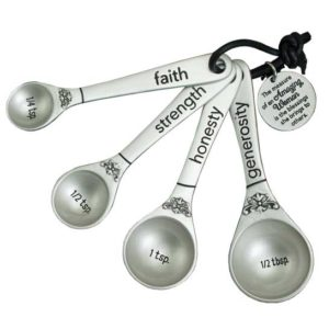 Amazing Woman Measuring Spoons Christian Gifts