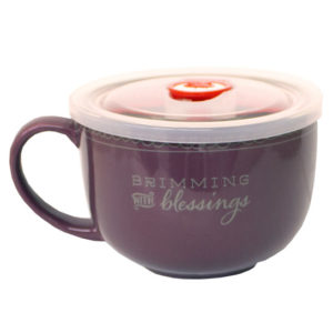MUG119 Brimming with Blessings Soup Mug