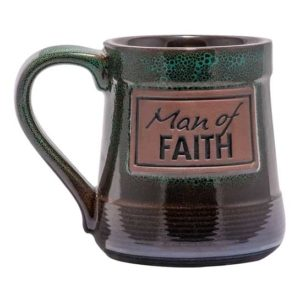 Man of faith coffee mug