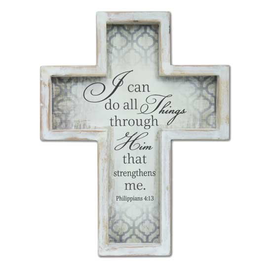 57658 I Can Do All Things Wall Cross Christian Gifts
