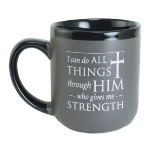 57890 I Can Do All Things Coffee Mug