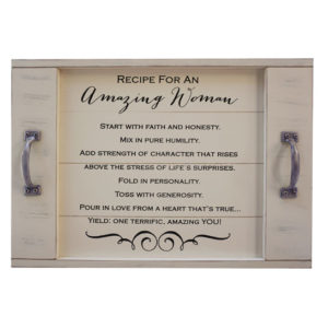 AW334 Amazing Women Serving Tray