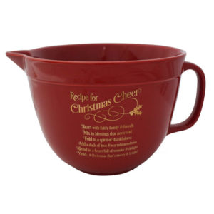 BOWL101 Christmas Cheer Mixing Bowl christian gifts