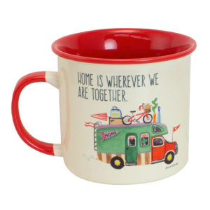 ELD186 Home is Everywhere Camp Mug Front
