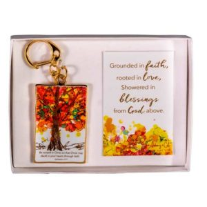 LOV124 Family Tree Key Chain