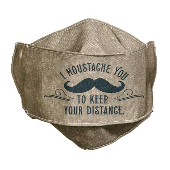MSK101 IMoustache You Face Mask