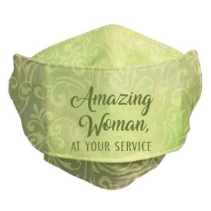 MSK107 Amazing Woman Face Mask