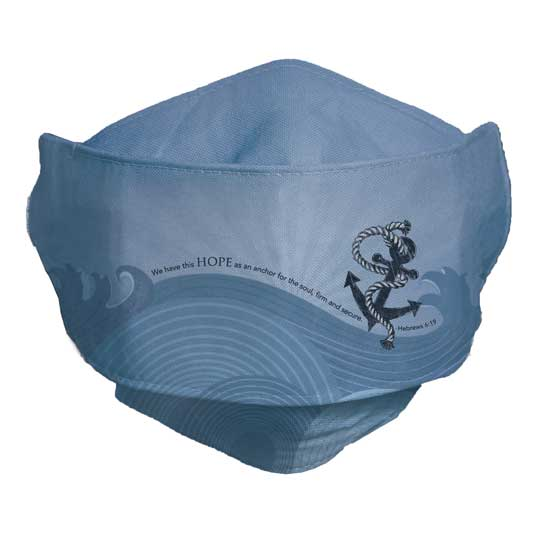 MSK108 Hope is an Anchor Face Mask