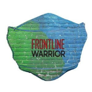 MSK112 Frontline Warrior Brick Face Mask