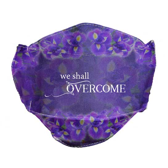 MSK120 We Shall Overcome Face Mask