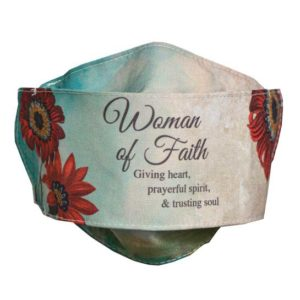 MSK123 Woman of Faith Face Mask