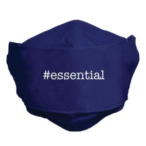 MSK127 Essential Navy Blue Face Mask