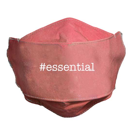 MSK128 Essential Coral Face Mask