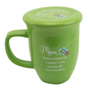 MUG101 Mom Coffee Mug with Coaster Front