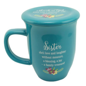 MUG103 Sister Coffee Mug with Coaster Front