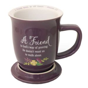 MUG104 Friend Coffee Mug with Coaster Christian Gifts