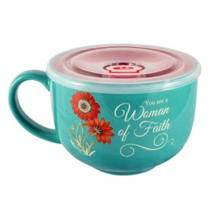 MUG120 Woman of Faith Soup Mug