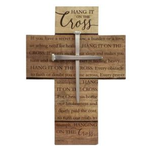 WC362 Hang It On The Cross christian Gifts