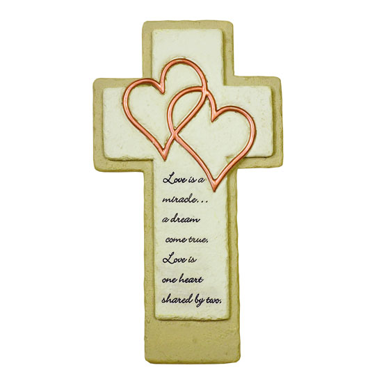 44167 Love is a Miracle Wall Cross