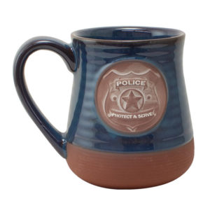 57714 Police Pottery Coffee Mug