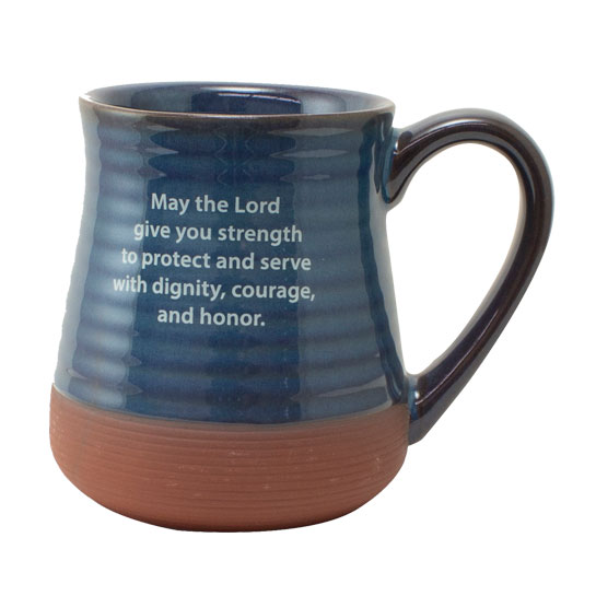 57714 Police Pottery Coffee Mug back