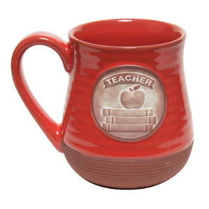 57715 Teacher Pottery Coffee Mug