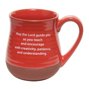 57715 Teacher Pottery Coffee Mug Back