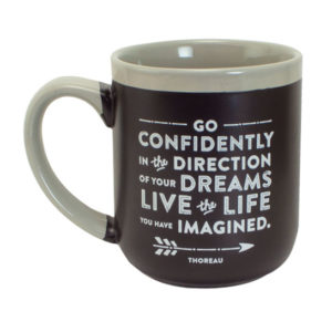 57877 Go Confidently Coffee Mug
