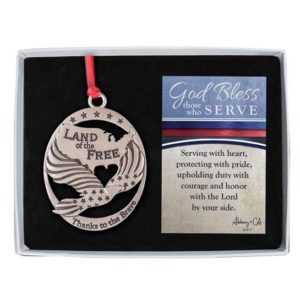 CO769GB Military Service Ornament