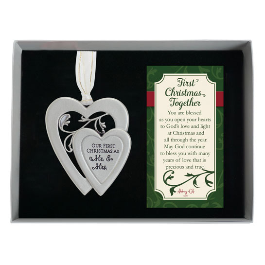 CO887 First Christmas Together Ornament wedding couples