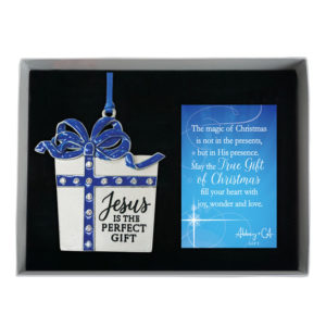 CO897 Jesus is the Perfect Gift Christmas Ornament