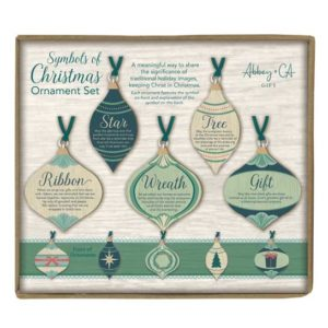 COS104 Symbols of Christmas Ornament Set