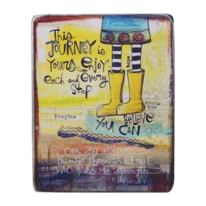 SAN105 Journey Metal Mini Easel