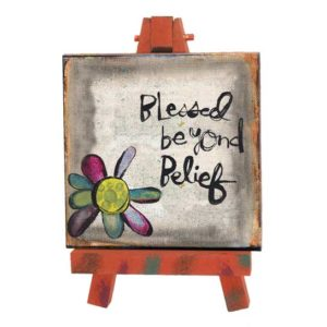 SAN182 Blessed Mini Easel
