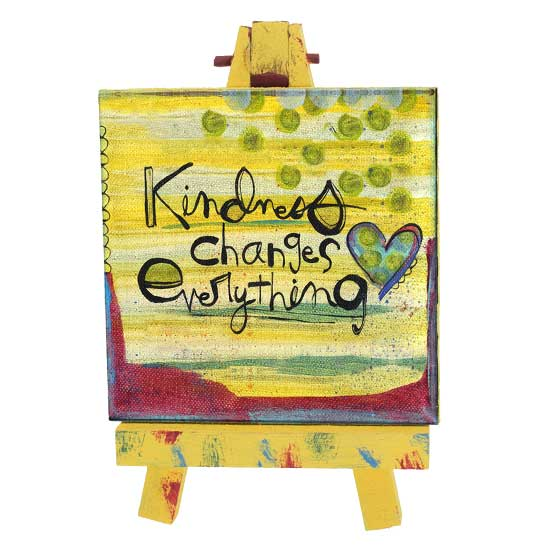 SAN186 Kindness Mini Easel