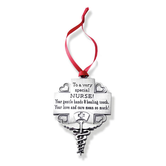 CO764 Metal Nurse Ornament christmas gift inspirational products