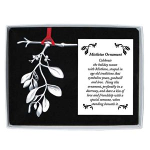 CO625 Mistletoe Christmas Ornament