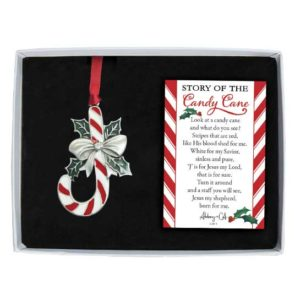 CO888 Candy Cane Christmas Ornament