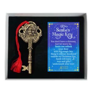 CO892 Santas Key Christmas Ornament