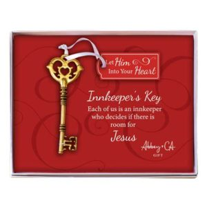 CO918 Innkeepers Key Christmas Ornament