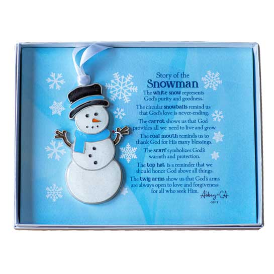 CO921 Snowman Christmas Ornament