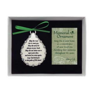 CO522 Irish Memorial Tear Ornament