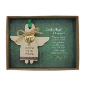 CO934 Irish Angel Ornament