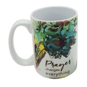 LOV133 Prayer Changes Coffee Mug and Coaster Set
