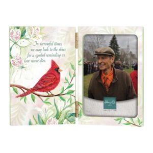 WL274 Cardinal Memorial Photo Frame