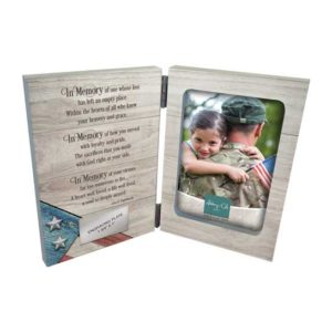 WL277 Patriotic Memorial Photo Frame