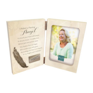 WL278 Passing Angel Memorial Photo Frame